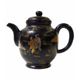 Zisha clay teapot - gold painter