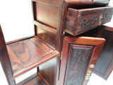 Chinese African Rosewood Desktop Display Chest Stand vs127S