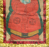Hand Painted Chinese Emperor Kang Xi's Wife Portrait Hanging Decor f424S