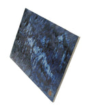 Handmade Chinese Handmade Blue Color Ceramic Wall Art Tile f972S