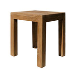 Chinese Solid Elm Wood Rectangular Stool f975S