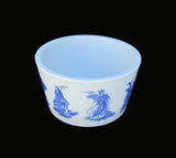 Chinese Handmade Blue & White Eight Immortals Painting Porcelain Pot