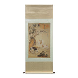 sheet scroll painting