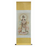 Chinese Kwan yin scroll painting