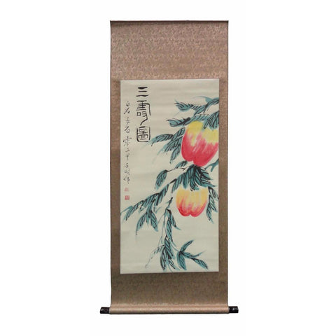 longevity scroll painting