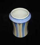 cream white porcelain vase