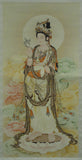 Chinese Kwan Yin scroll painting art