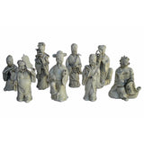 porcelain eight Immortal statue