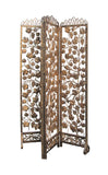 iron gold flower pattern panel