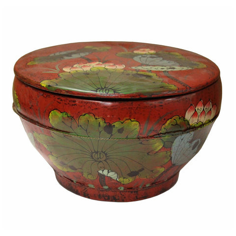 lotus flower painter basket