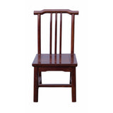 rosewood high back chair