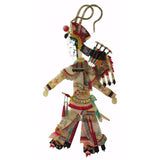 Chinese puppetry lady warrior