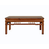 Chinese rectangular coffee table