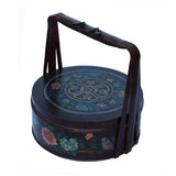 antique Asian food bucket