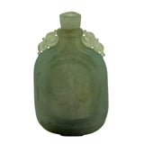 natural jade snuff bottle