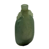 natural untreated jade snuff bottle