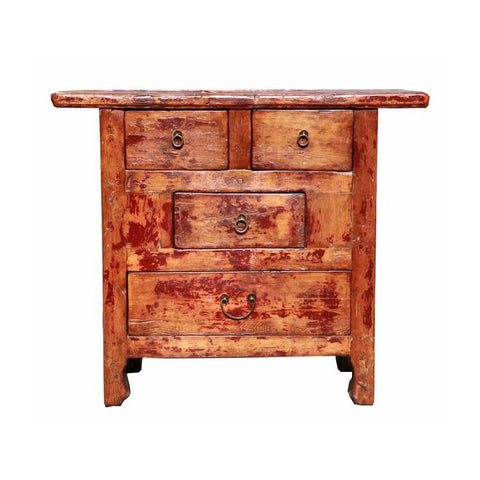 rustic altar table cabinet