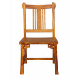 zebra wood dinning chair