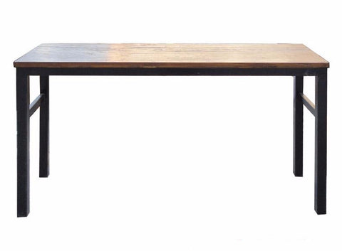 Simple Raw Plank Top Altar Side Table Desk s2371S