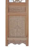 Chinese Open Dragon Pattern Wood Screen Panel Set sy813S