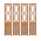 Chinese wood tall screen panel - partition panel