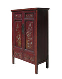 vintage Chinese tall armoire