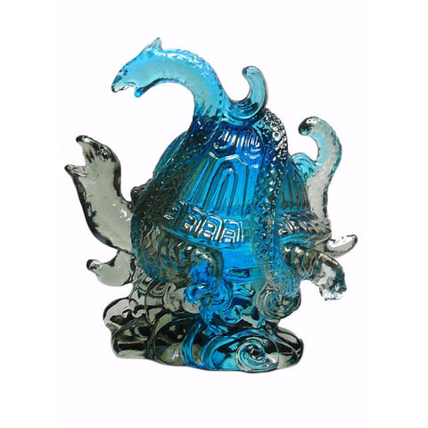 Liuli Crystal Glass Pate-de-verre Turtle Celestial Animals Figure