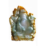 jade Kwan Yin - Bodhisattva -  goddess of mercy - goddess of compassion