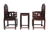 Chinese rosewood arm chair