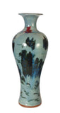 Contemporary Fusion Style Tall Porcelain Vase