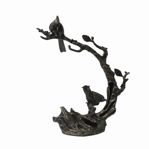 metal art - bird sculpture - metal figure