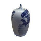 general jar -blue white - porcelain jar