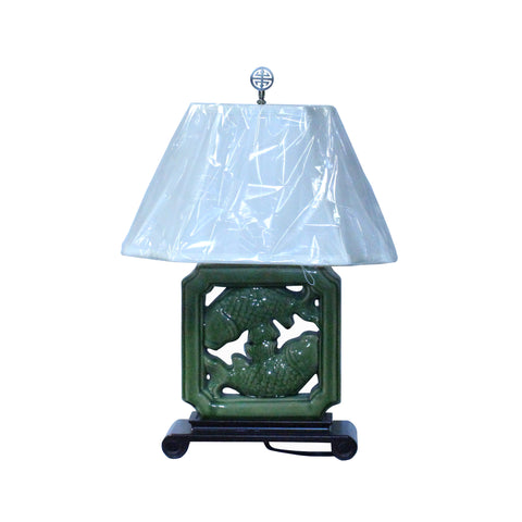 lamp - porcelain lamp - table top lamp