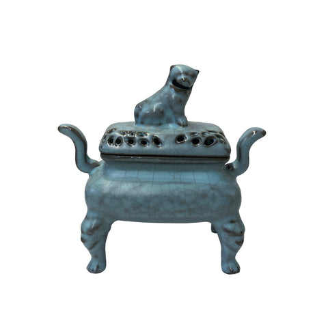 Incense burner - ceramic incense burner - Chinese ding