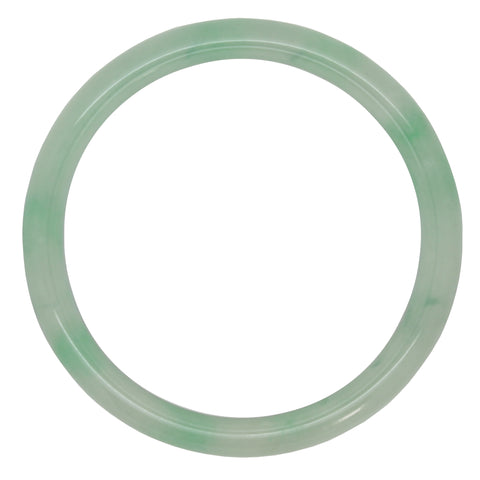 "Chinese Jade Stone Dia 51mm / 2"" B class Bangle"