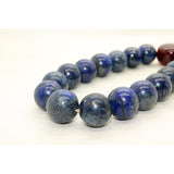 Handmade Blue Gemstone  Beads Hand Rosary Praying Bracelet ws212S