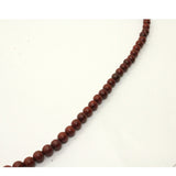 Chinese Yellow Rosewood Beads Rosary Praying Necklace ws221S