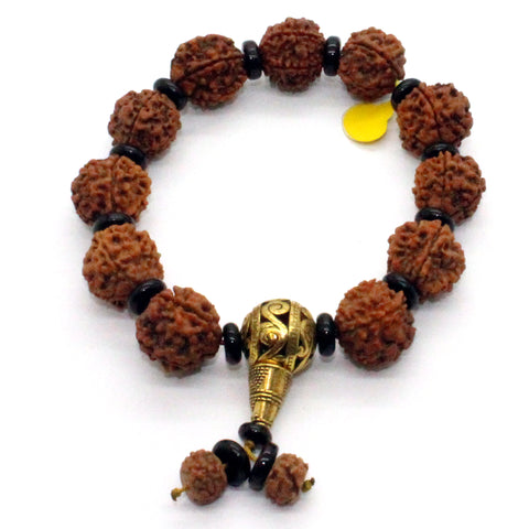 bracelet - plant seeds- prayer beads