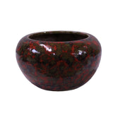 candle holder - incense holder - ox blood urn