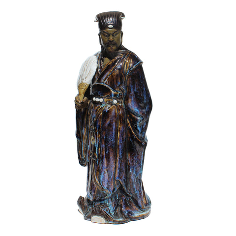 zhuge liang - Ceramic figure - chinese historic person