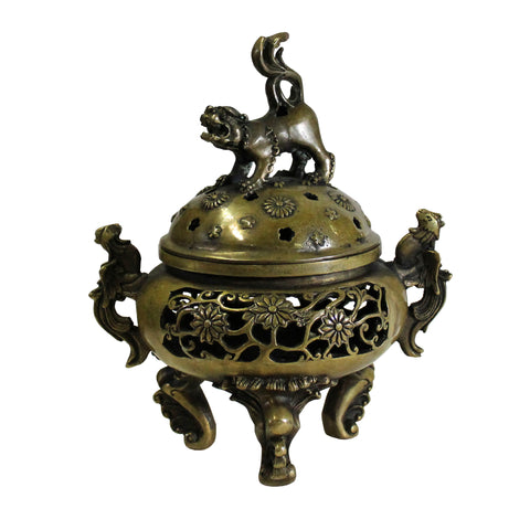 Incense burner - metal incense burner - Chinese ding