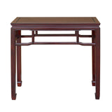 altar table - foyer table - Chinese rosewood table