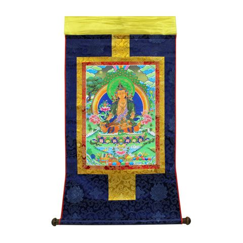 scroll thangka - tibetan Buddha - Print Thangka