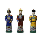 Ching Dynasty King - Ceramic King Figure - Chinese Emperors