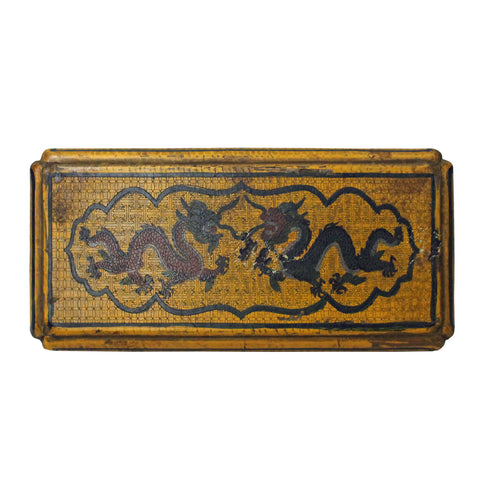 lacquer box - Chinoiserie - asian treasure box