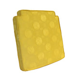 seat cushion - golden yellow seat pad - Asian Chinese seat cushion