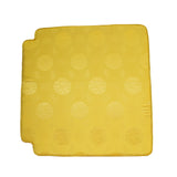 A27 Chinese Oriental Golden Yellow Silk Fabric Square Seat Cushion Pad ws598S