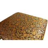 A25 Chinese Oriental Brown Dragon Silk Fabric Square Seat Cushion Pad ws657S