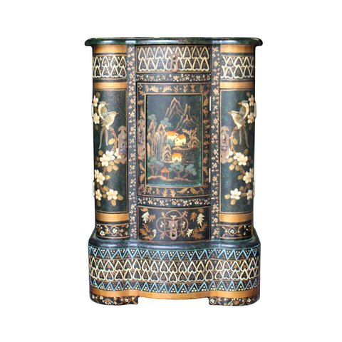 chinoiserie cabinet - side table - small chest