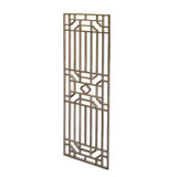 Rectangular Plain Wood Geometric Pattern Wall Panel ws741S